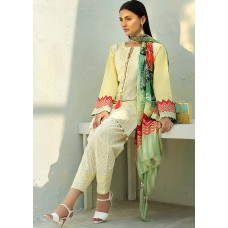 AUJ Spring Summer Lawn Collection 2018 - DESIGN 07