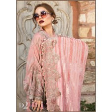 Maria B Linen Winter Collection - 2020 - D-2