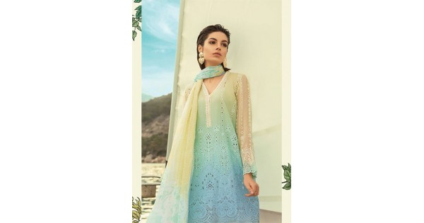 9971e7550c Maria.B Luxury Lawn Collection - 2019 - D-04-A