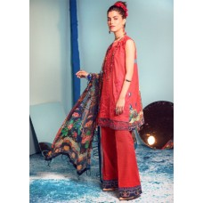 Rungrez Renaissance Summer Lawn Collection 2020 - LADY IN RED