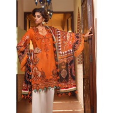 SAIRA RIZWAN Luxury lawn Collection By Ittehad - 2020 - Elena