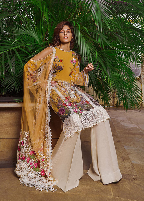5966a8cc76 Sobia Nazir Luxury Lawn Collection - 2019 - Design-7B