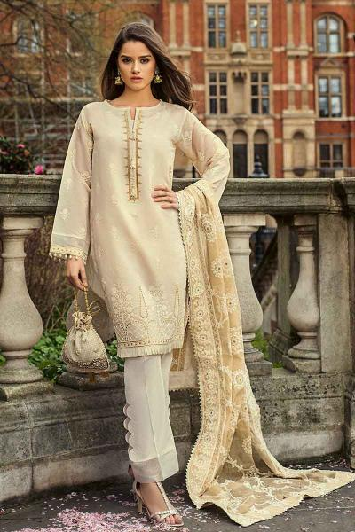 37b991a91b Gul Ahmed Festive Eid Collection 2019 - FE-239