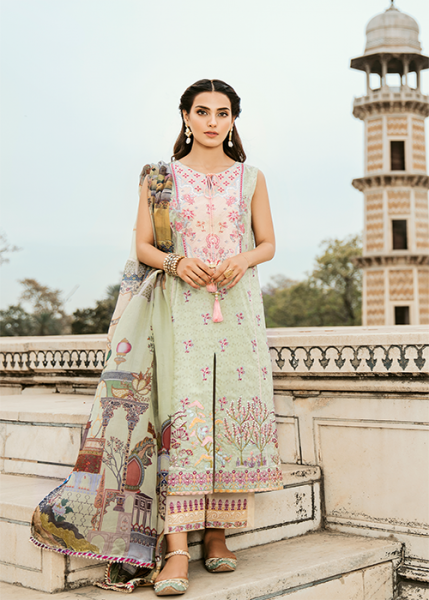 QALAMKAR Luxury Festive Noor e Chasham Collection 2019 - NR-02