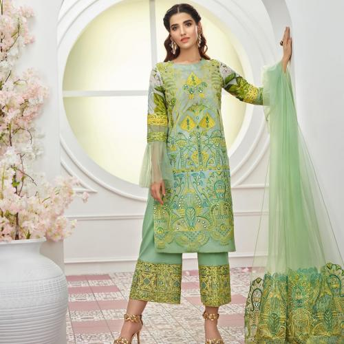 Asifa And Nabeel  Lawn Collection Vol-2 - 2019 - 7D