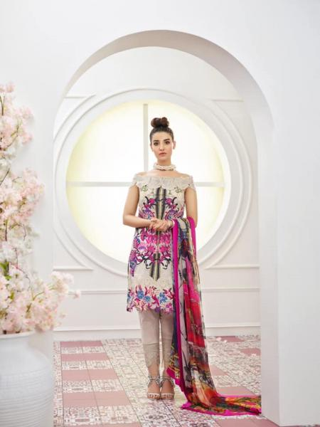 Asifa And Nabeel  Lawn Collection Vol-2 - 2019 - 1N