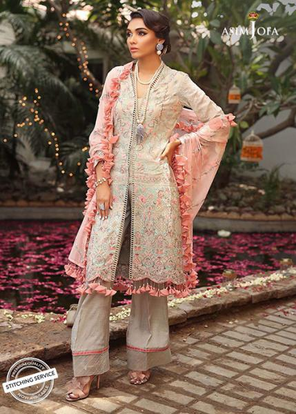 ASIM JOFA Signature Embroidered Collection - 2019 - AJCN-01