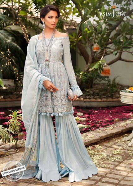ASIM JOFA Signature Embroidered Collection - 2019 - AJCN-02