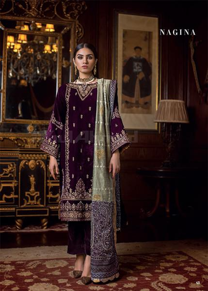 Gul Ahmed Noor-E-Chasham Collection - 2019 - VLW-11