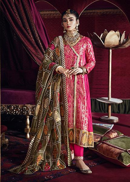 Cross Stitch Razia Sultana Luxury Eid Collection - 2020 - DEEWAN-E KHAS-A