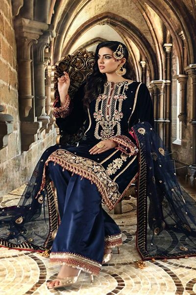 Anaya By Kiran Chaudhry Velour de Luxe Collection - 2020 - ZURI