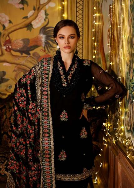 Gul Ahmed Glamorous Luxury Collection - 2021 - FE-345