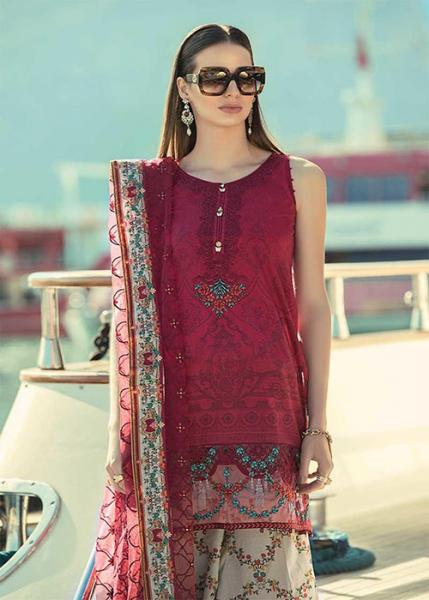 Maria.B Luxury Lawn Collection - 2019 - D-15-B